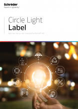 circle light label